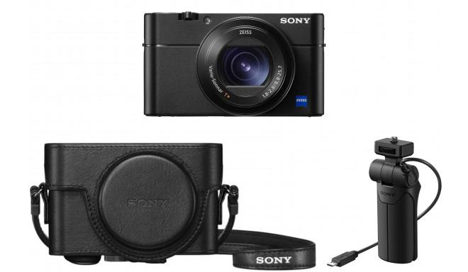 Sony DSC-RX100 VA + käepide LCJ-RXK + vutlar VCT-SGR1