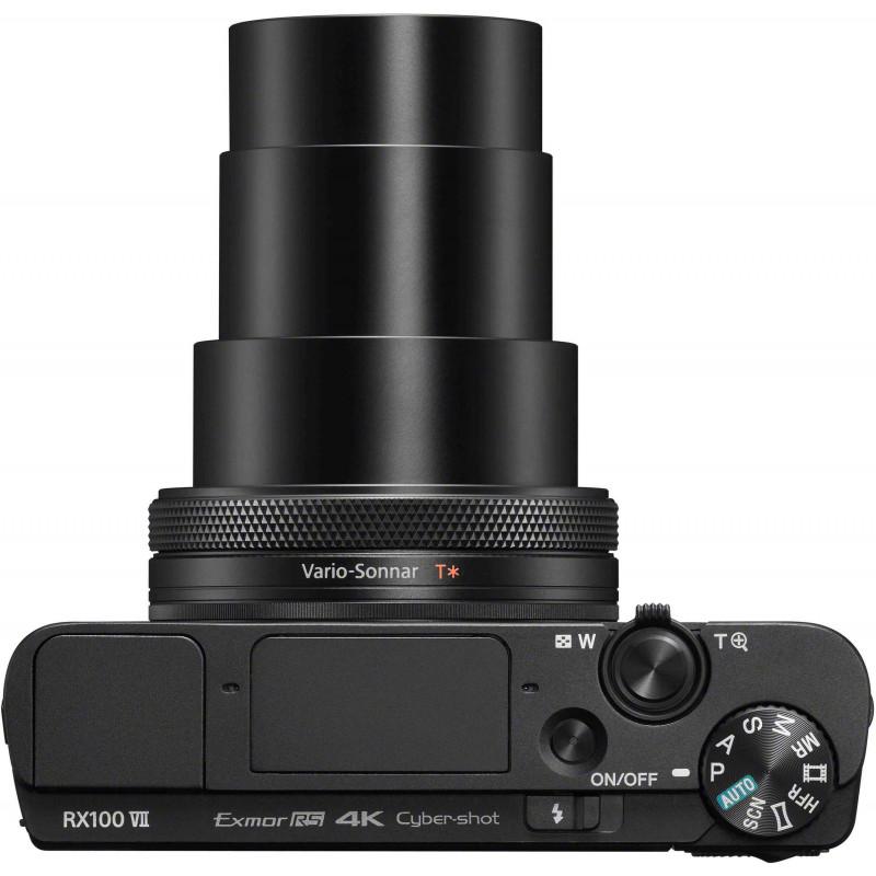 Sony DSC-RX100 VII + käepide LCJ-RXK + vutlar VCT-SGR1