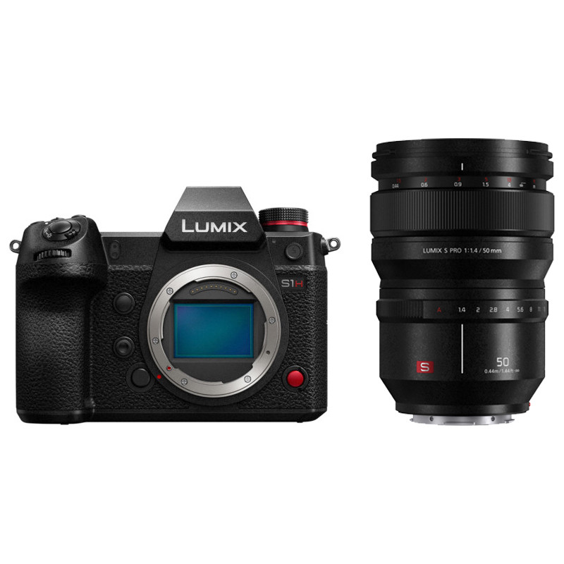 Panasonic Lumix DC-S1H + 50mm f/1.4