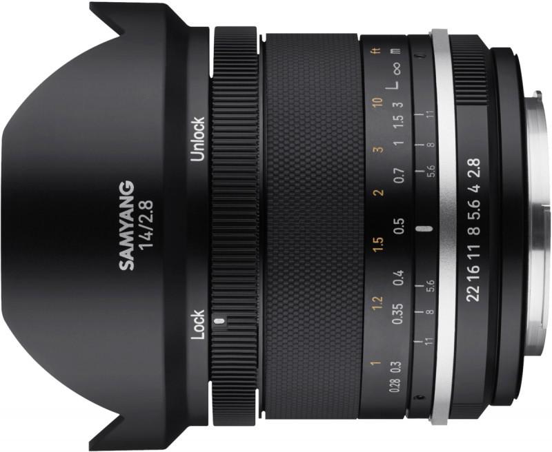 Samyang MF 14mm f/2.8 MK2 objektiiv Sonyle