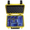 B&W Copter Case Type 3000 Y yellow with DJI Mavic 2 Inlay