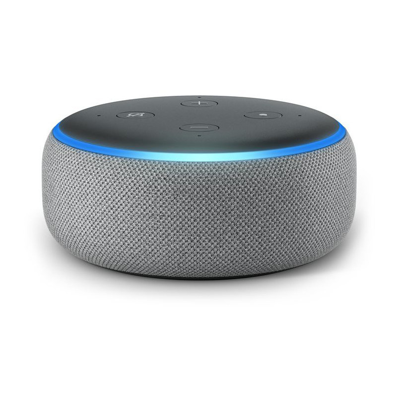 Amazon Echo Dot 3, heather grey