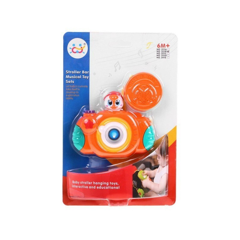 Hola Children's Developmental Rattle - Camera