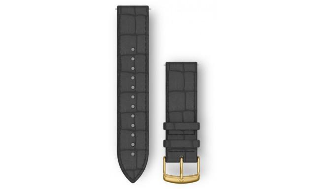 Garmin watch strap Quick Release 20mm, black/alligator