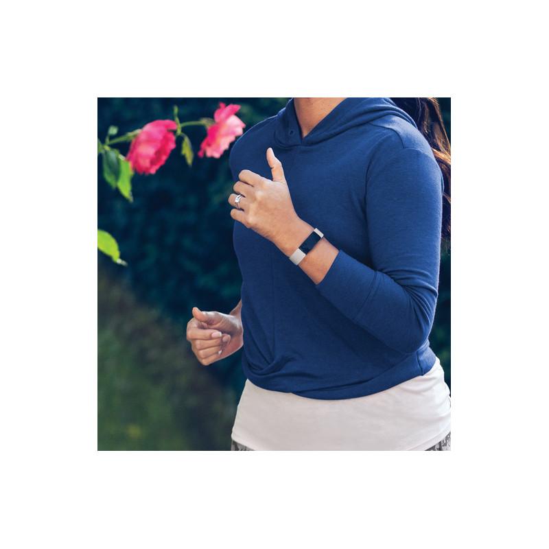 Fitbit Inspire 2, lunar белый/черный
