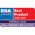 Nikon Nikkor Z 85 мм f/1.8 S объектив