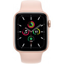 Apple Watch SE GPS 44mm Sport Band, gold/pink sand