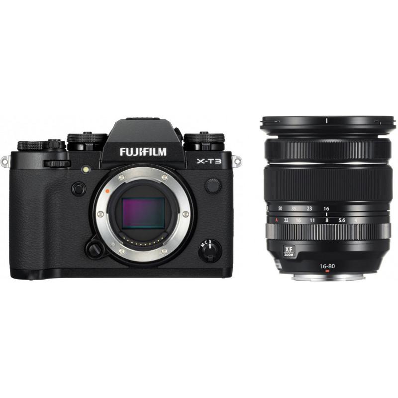 Fujifilm X-T3 + 16-80mm Kit, must