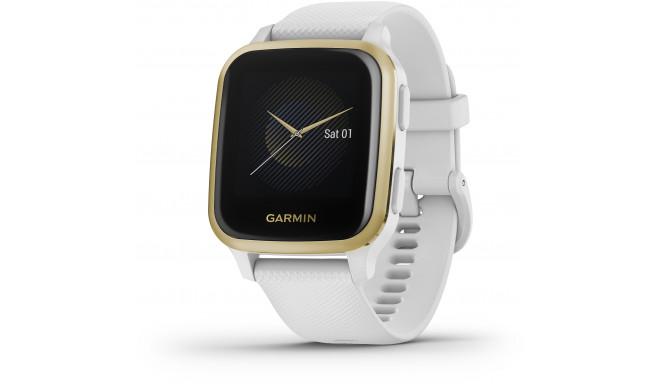 Garmin Venu Sq, white/light gold
