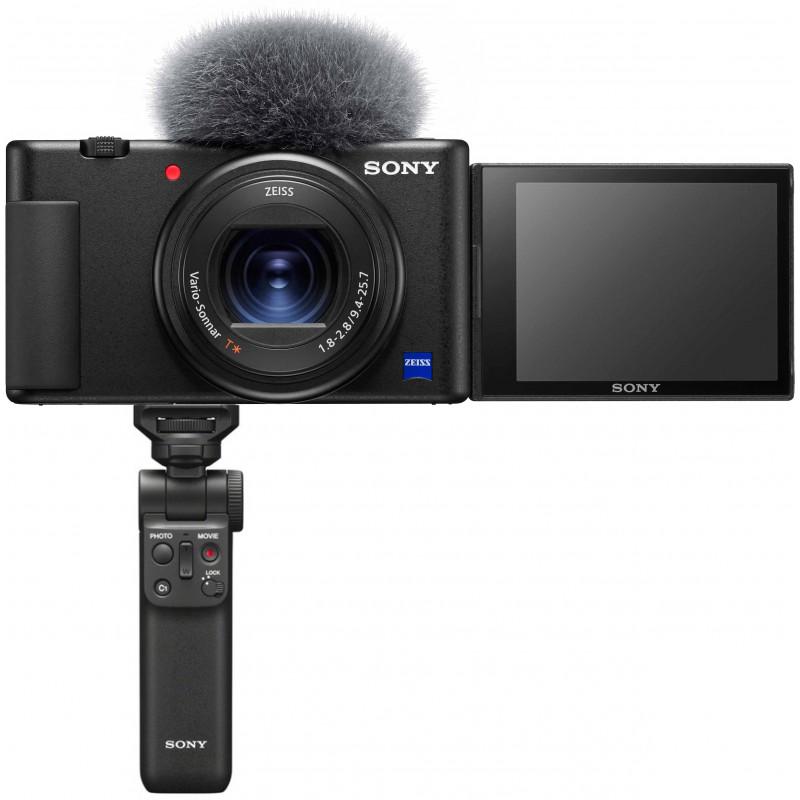 Sony ZV-1 + käepide GP-VPT2BT