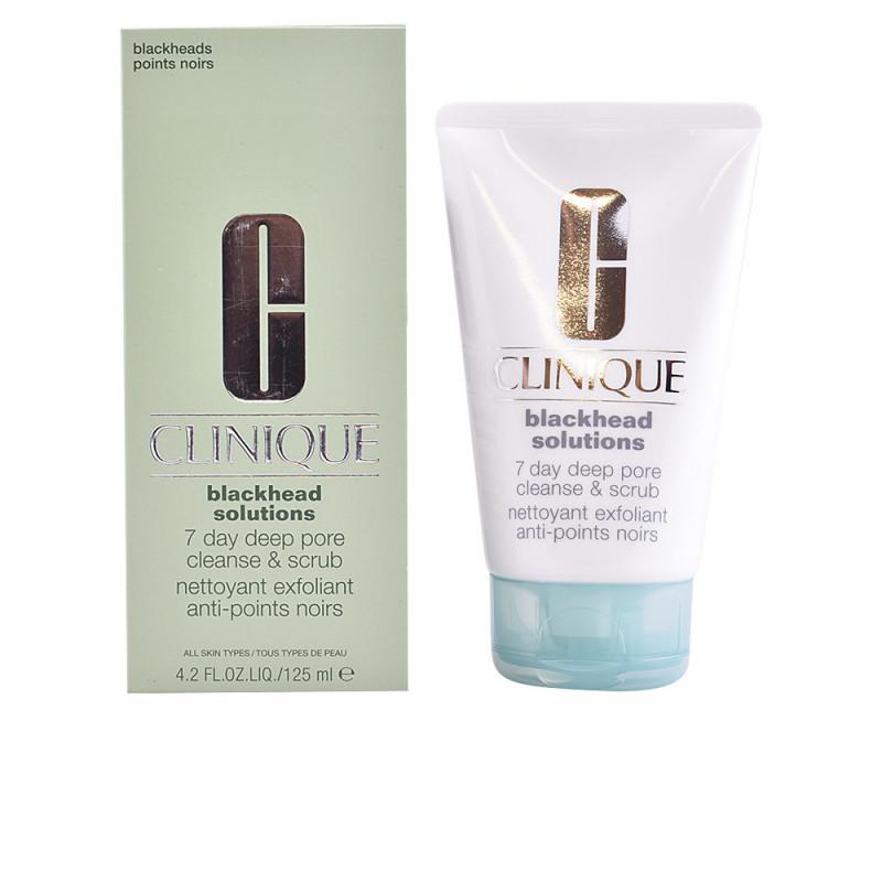 CLINIQUE BLACKHEAD SOLUTIONS 7 days deep pore cleanser & scrub 125 ml