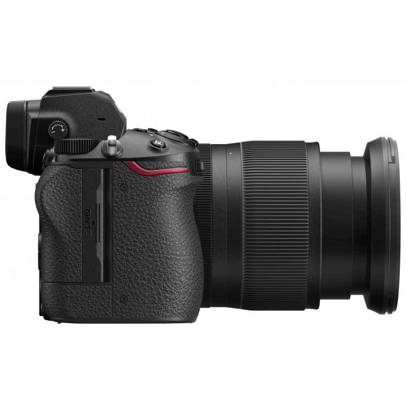 Nikon Z6 II + 24-70mm f/4 S + objektiivi adapter FTZ