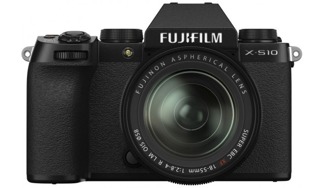 Fujifilm X-S10 + 18-55mm Kit, must