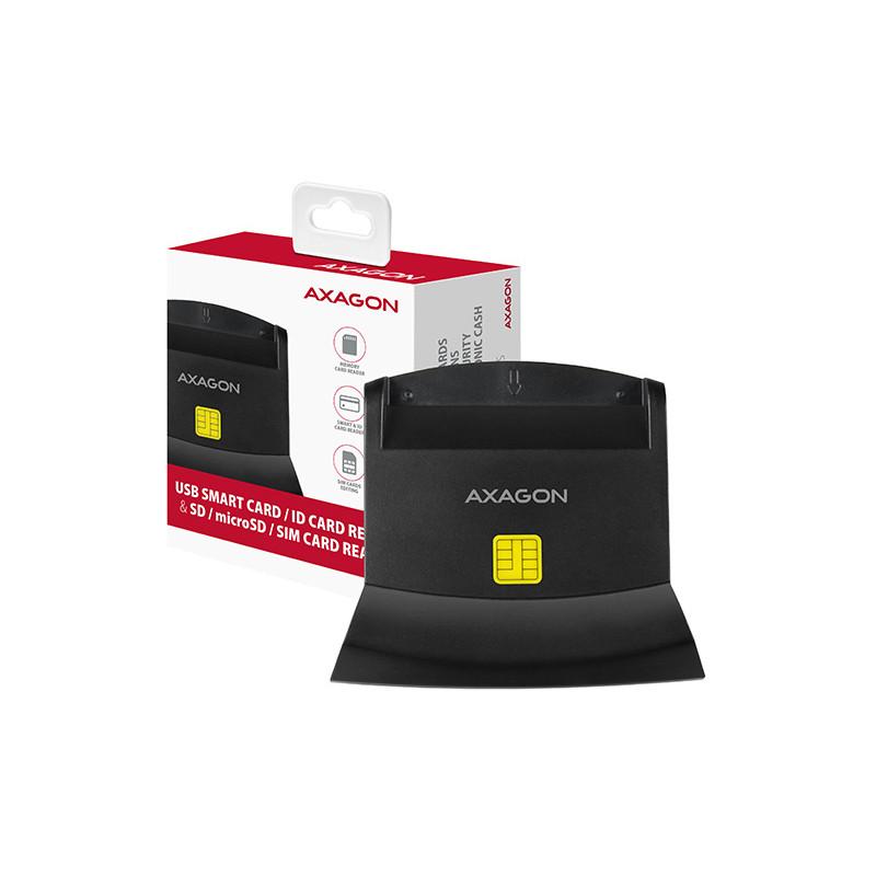 Axagon ID-kaardi lugeja 4in1 CRE-SM2