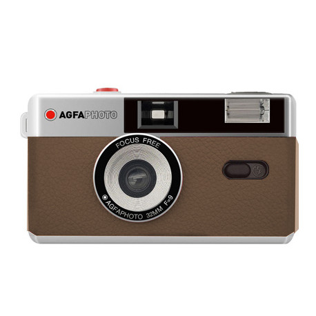 Agfaphoto reusable camera 35mm, brown