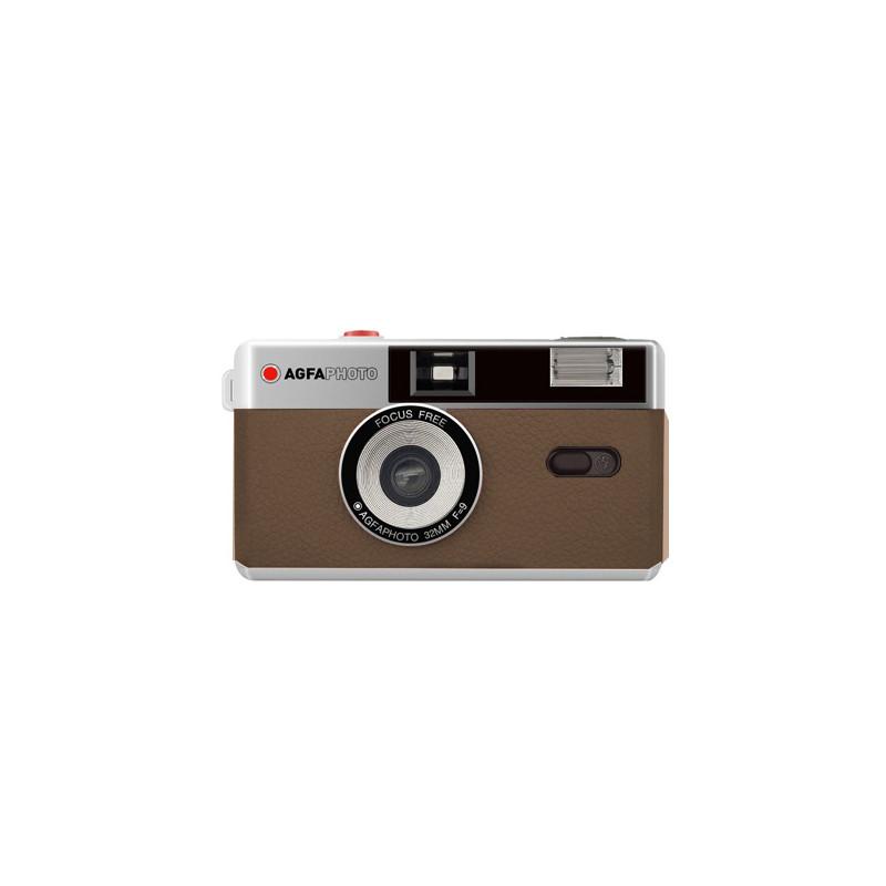 Agfaphoto reusable camera 35mm, brown