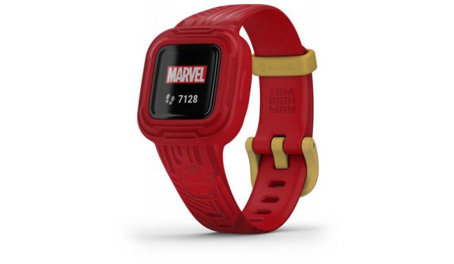 Garmin aktiivsusmonitor lastele Vivofit Jr.3 Iron Man