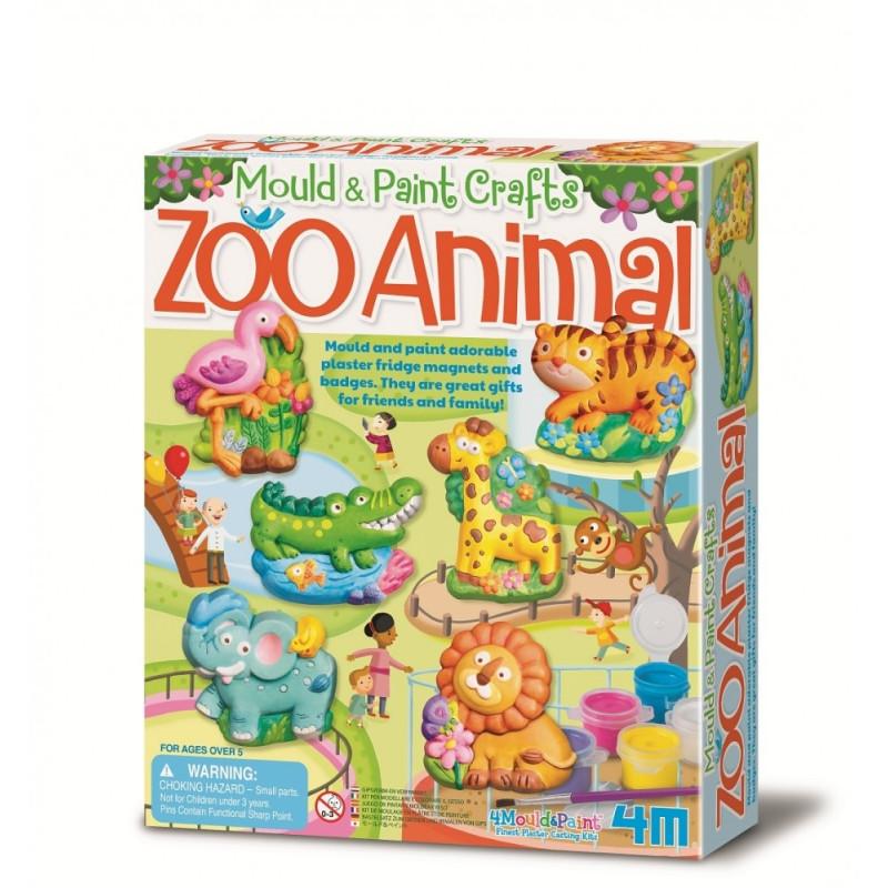 Odlewy gipsowe - Zoo