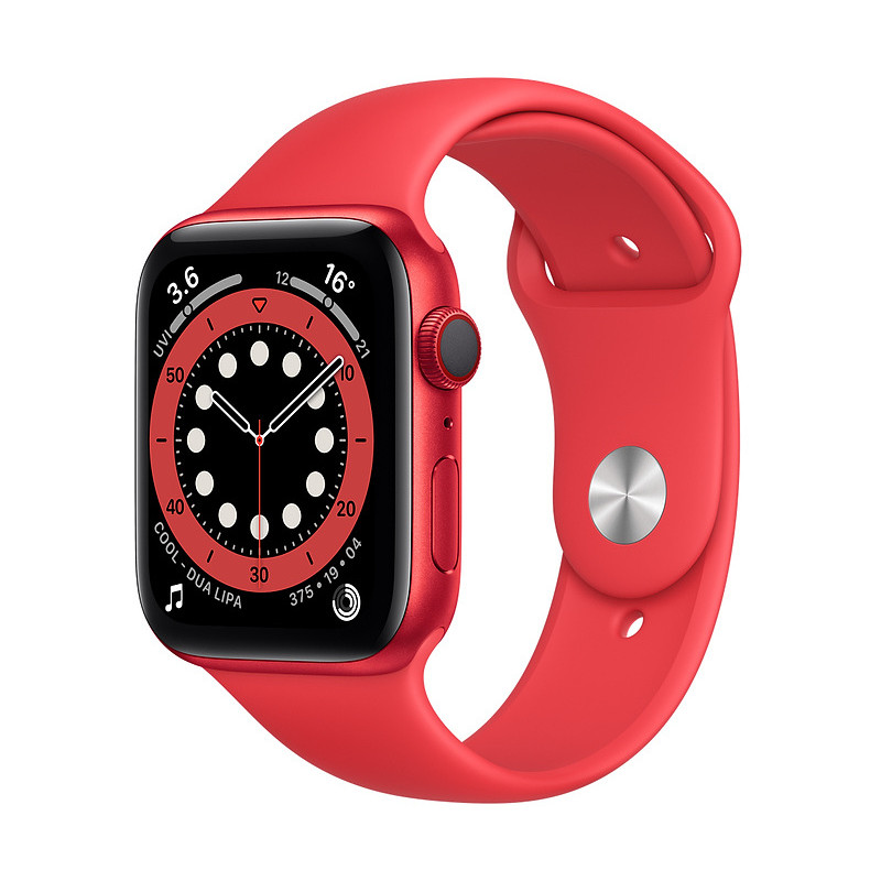 Apple Watch 6 GPS + Cellular 44mm Sport Band (PRODUCT)RED (M09C3EL/A)