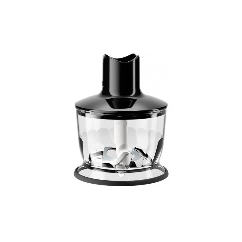 Braun container for grinder Multiquick MQ30, black