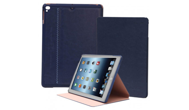 "iKaku cover Eco-Leather Modern & Slim Galaxy Tab A 10.1"", dark blue"