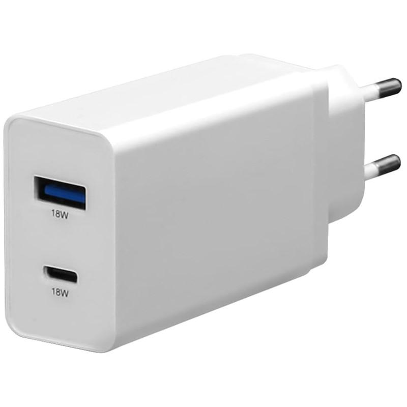Platinet laadija USB/USB-C 18W (PLCUPD18W)