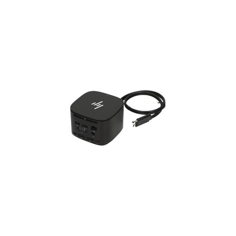 HP TB Dock G2 230W - 3x USB 3.0, 2x USB-C(15W