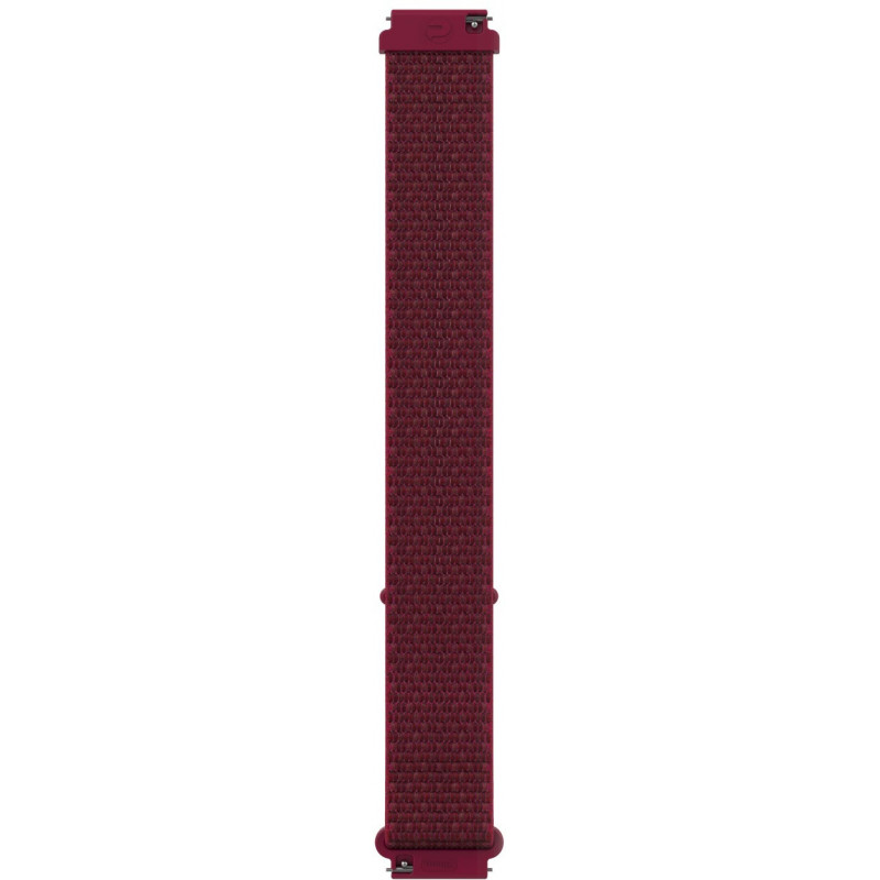 Polar watch strap 20mm S/M nylon, red