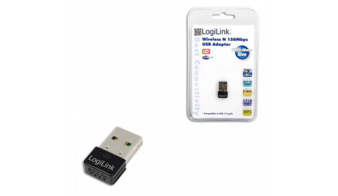 Logilink adapter Wireless N150 USB