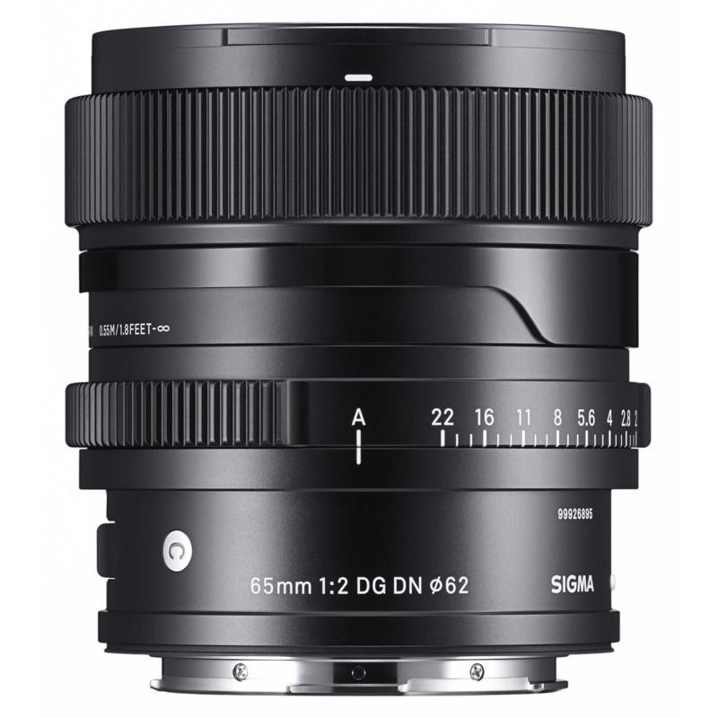 Sigma 65mm f/2.0 DG DN Contemporary objektiiv Sonyle