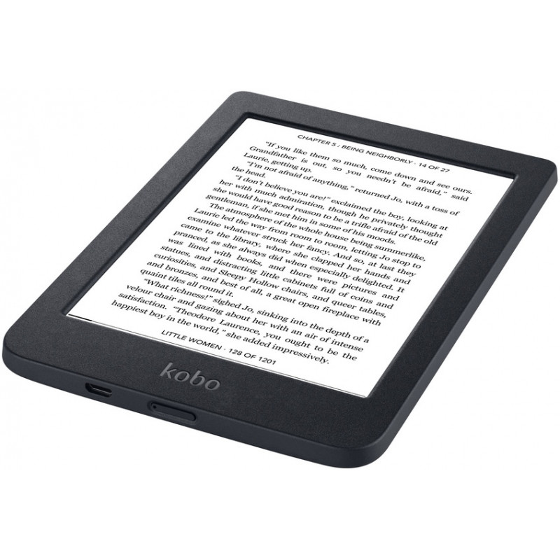 Kobo e-reader NIA, black