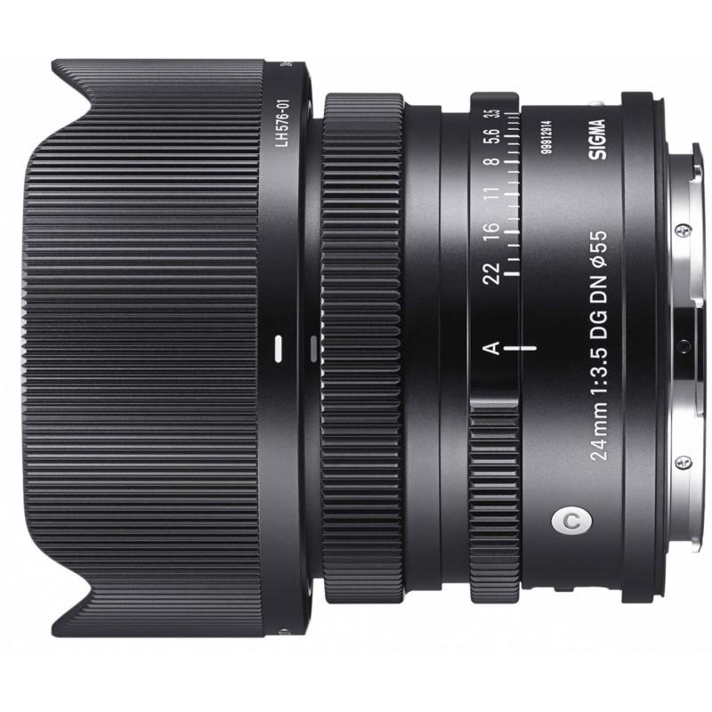 Sigma 24mm f/3.5 DG DN Contemporary objektiiv L-bajonett