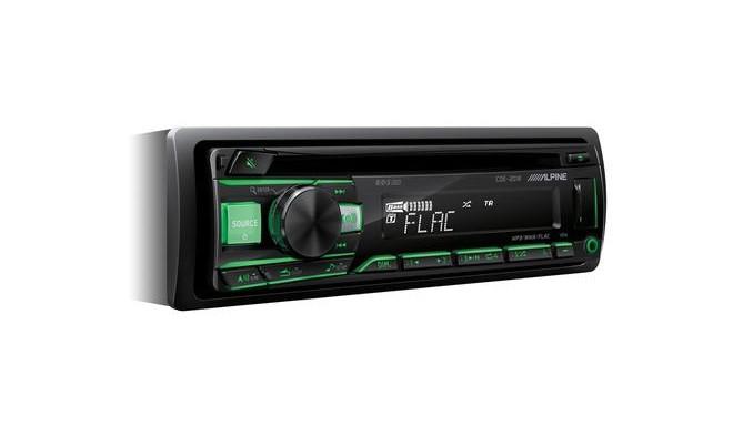 Alpine CDE-201R car media receiver Black 200 W