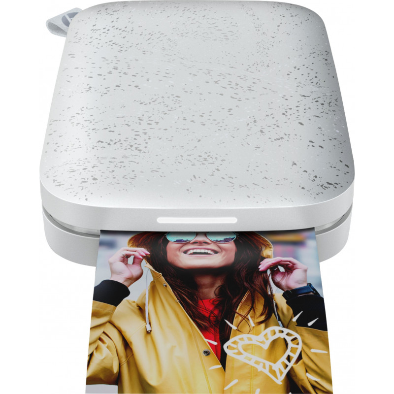 HP fotoprinter Sprocket 200, luna pearl