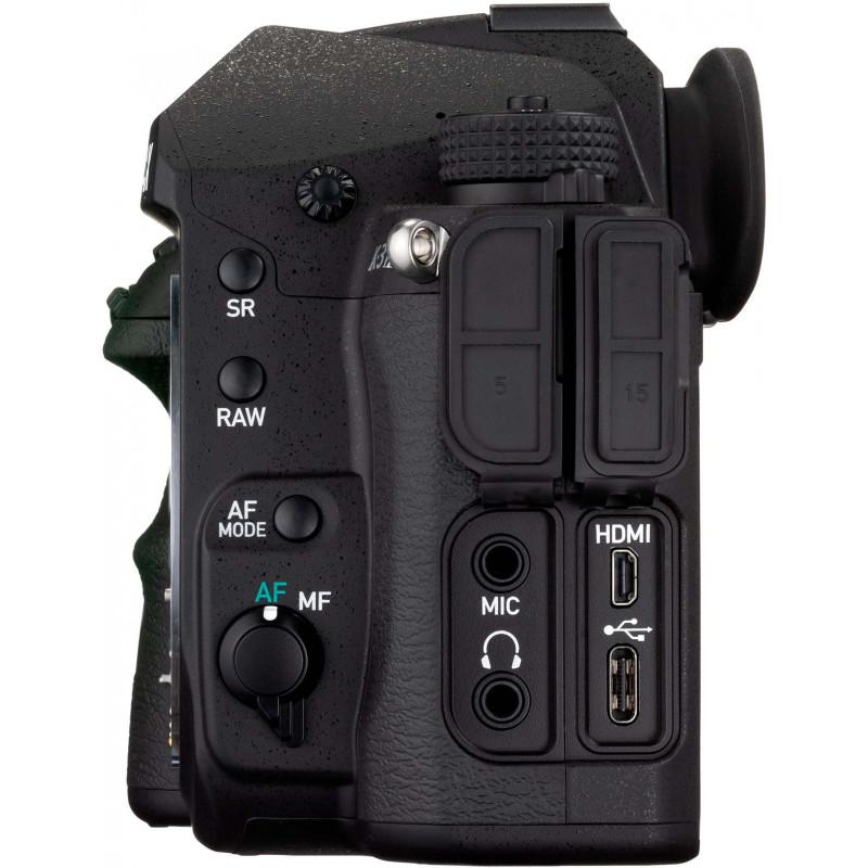 Pentax K-3 Mark III Premium Kit, черный