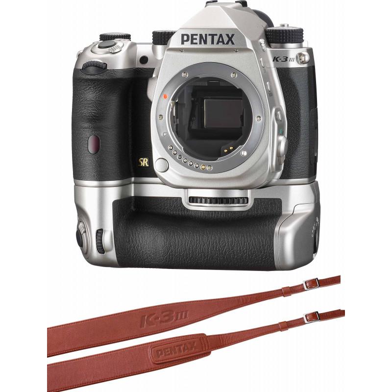 Pentax K-3 Mark III Premium Kit, hõbedane