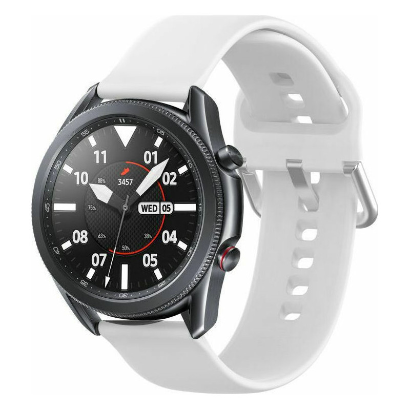 Tech-Protect kellarihm IconBand Samsung Galaxy Watch3 45mm, valge