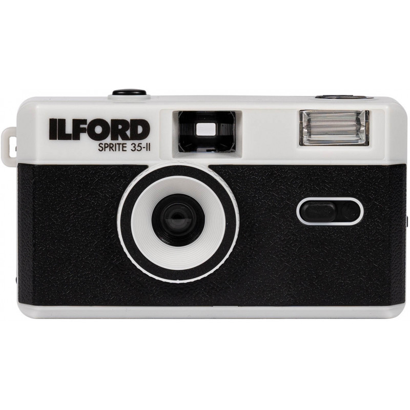 Ilford Sprite 35-II, черный/серебристый