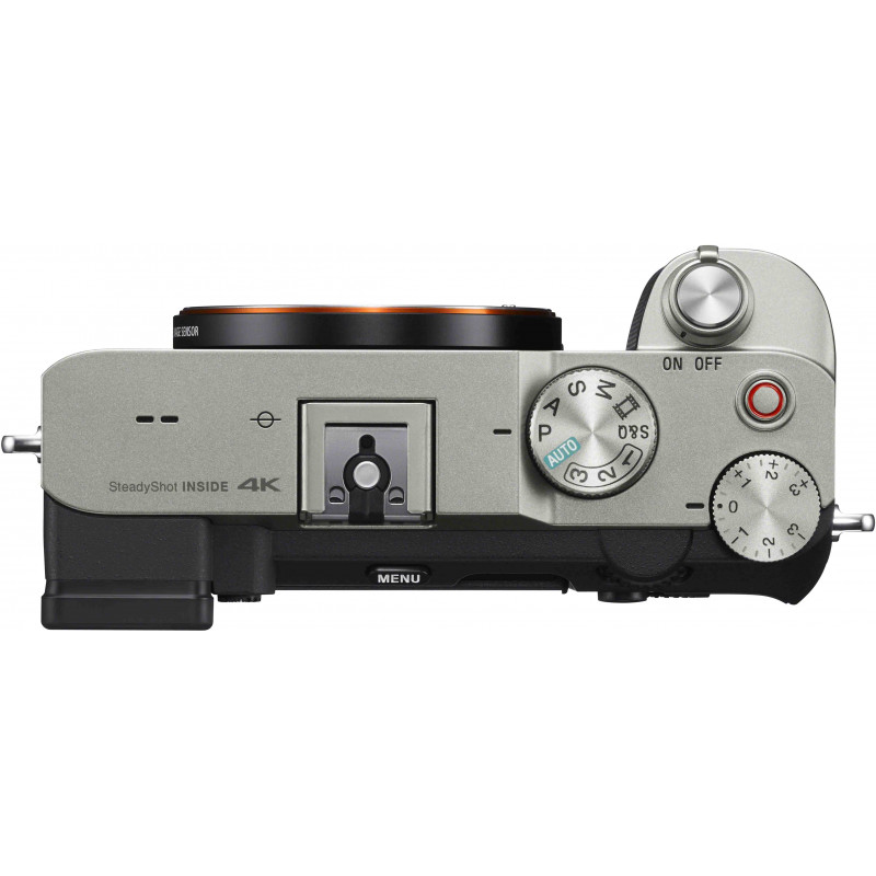 Sony a7C + Sony juhtmevaba mikrofon, hõbedane