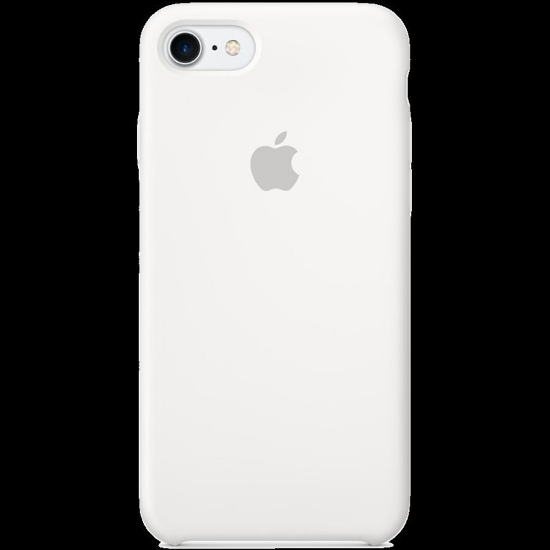 promo code 2aaaa 9f889 Apple Silicone Case iPhone 7, white