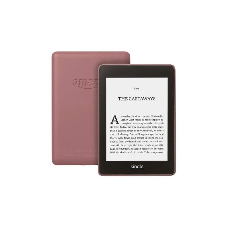 Amazon Kindle Paperwhite e-book reader Touchscreen 8 GB Wi-Fi Black, Burgundy