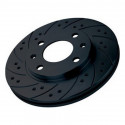 Brake Discs Black Diamond KBD024COM Solid Frontal 12 Stripes