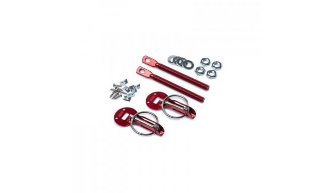 Bonnet lock Sparco 01606AR Red