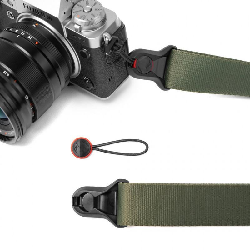 Peak Design kaamerarihm Slide Lite, sage