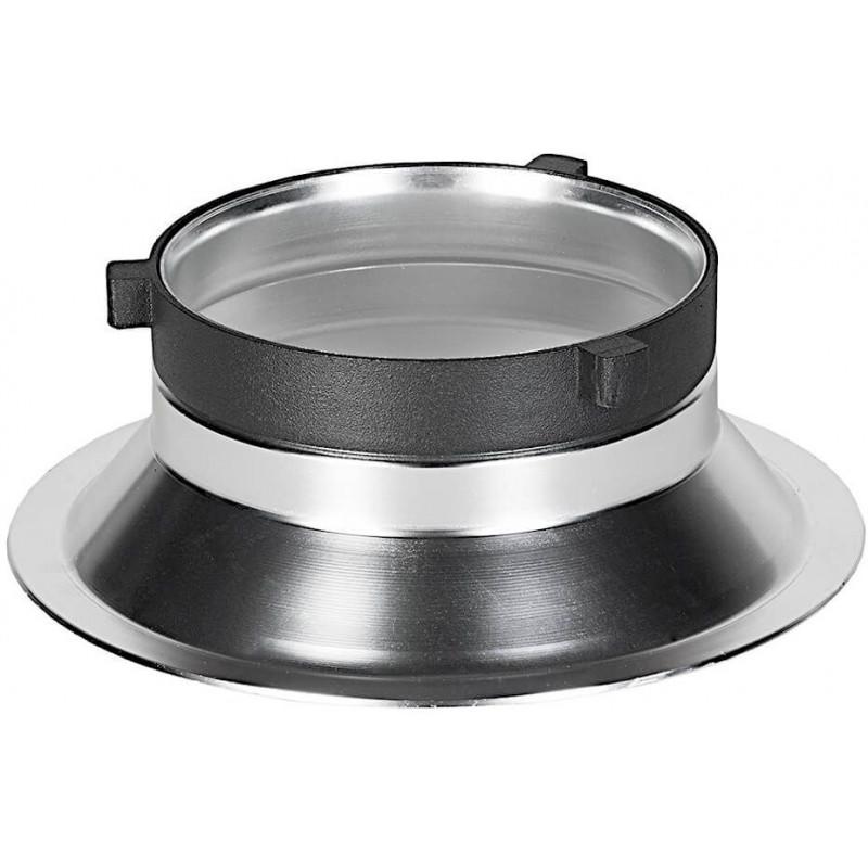 Quadralite adapter Wave Beauty Dish Speedring Bowens