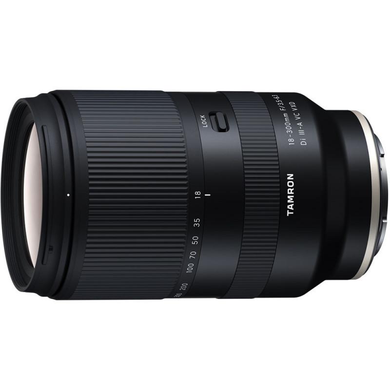 Tamron 18-300mm f/3.5-6.3 Di III-A VC VXD objektiiv Sonyle