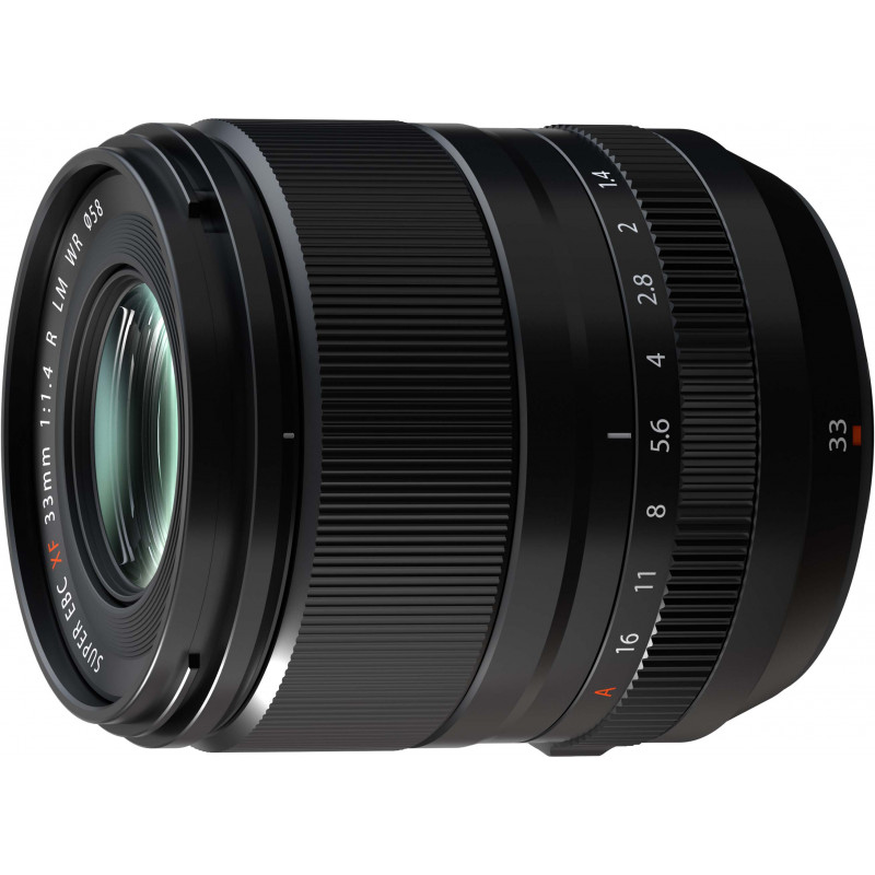 Fujifilm XF 33mm f/1.4 R LM WR objektiiv