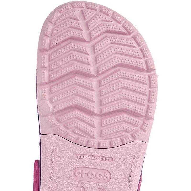 46382ce0ea85 Children s casual shoes Crocs Lights Rainbow Heart Clog K Ballerina Pink Jr  202662