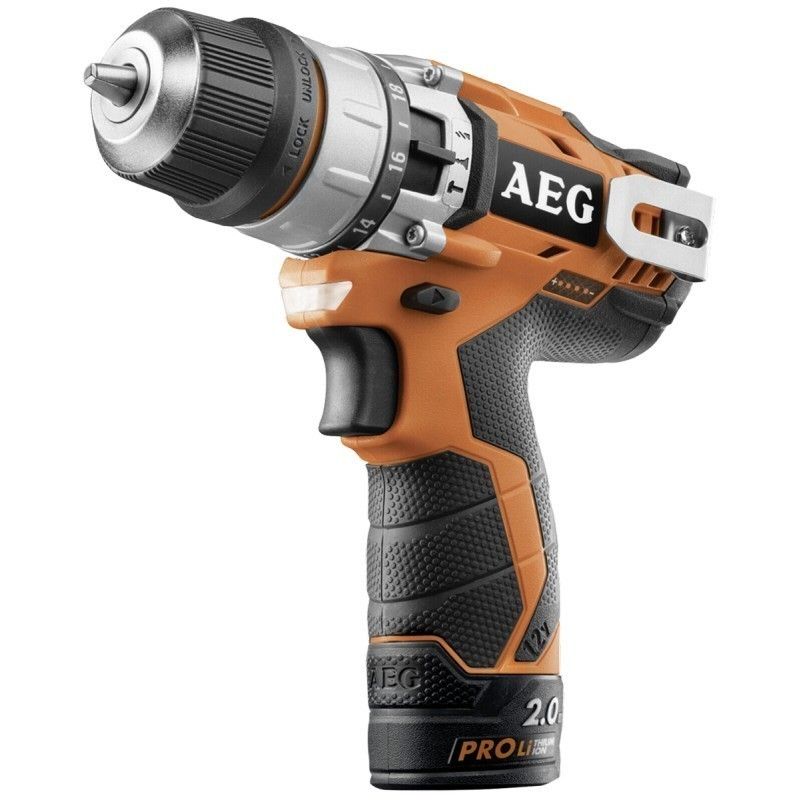 AEG BSB 12 C2 V 2 Speed Ultra Compact Percussion Drill