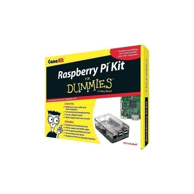 Raspberry Pi 3 Kit for Dummies